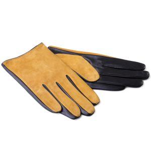 Перчатки Ekonika EN33358 mustard/brown-19Z. Цвет: желтый/коричневый